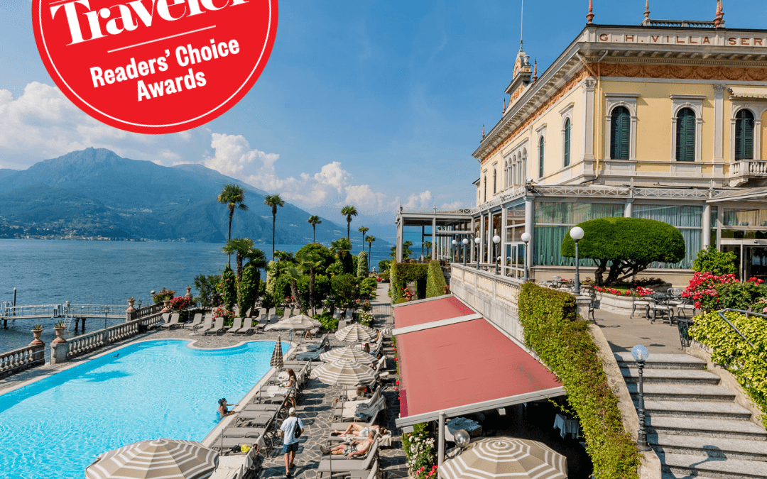 "Grand Hotel Villa Serbelloni named one of the ""Top Hotels in Italy: Readers' Choice Awards 2018"" in Conde' Nast Traveler"