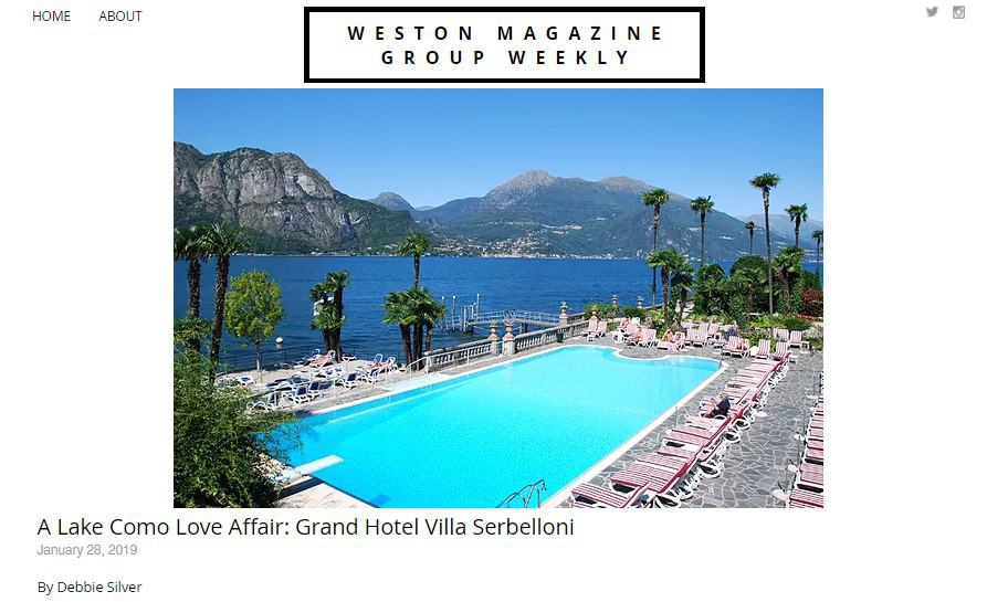 Experience a Love Affair like No Other at the Grand Hotel Villa Serbelloni